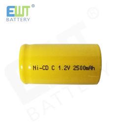 Обычными никель-кадмиевыми C батареи 1,2 в 2500 мач NiCd для электроинструмента устройства