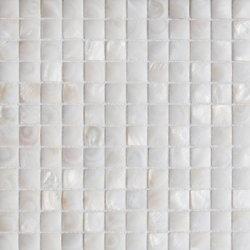 Mãe de Pearl White Square Parchwork mosaicos de Shell para a decoração de paredes, painel contra salpicos