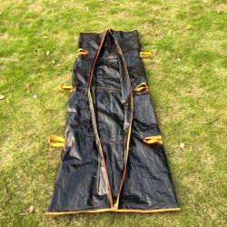 Одноразовые водонепроницаемый корпус похороны Bag Разлагаемые Cadaver Bag труп сумку с ручками