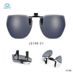 卸し売りOEMまたはODMのためのTACレンズが付いているサングラスの方法接眼レンズの熱い販売UV400によって分極されるクリップ
