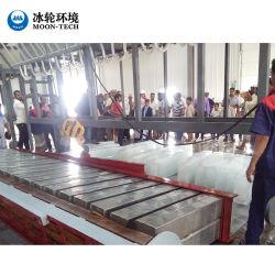 2 tonnes de petits blocs de glace de flocon industriels responsables de la machine à glace Gel Tube de glace Making Machine