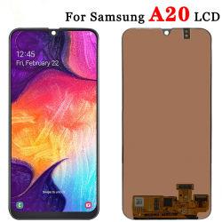 Samsung 은하 A20를 위한 접촉 스크린을%s 가진 셀룰라 전화 LCD