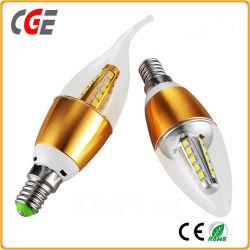 Forme de flamme de lumière LED E12 5W/7W/9W Candle Light LED éclairage LED Ampoules à LED