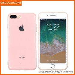 Het Suikergoed TPU kleurt de Mobiele Gevallen van de Telefoon met het Embleem van de Appel voor iPhoneGevallen