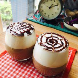 L'eau froide instantanée de la poudre de café soluble Creamer