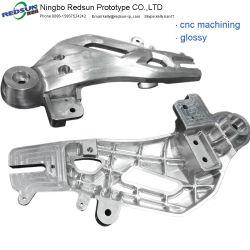 Staal/Aluminium/Messing CNC die Delen machinaal bewerken door het Draaien/van het Malen Proces