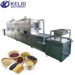 Túnel Industrial Microondas Alimentos Nueces de Grano Fruta Secadora de Verduras Tostado Secado Curado Esterilizador