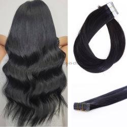 Большой запас высокого качества и Виргинские человеческого волоса добавочный номер Double обращено № 1b лента для волос