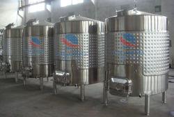 Tank van de Opslag van de Wijn van de Rang van het roestvrij staal de Sanitaire met het ZijJasje van het Mangat & van het Kuiltje
