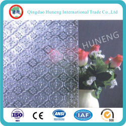 فلورا شفاف 3mm-6mm/Nashiji /Millenium Pattern /Figure Glass