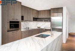 現代メラミン食器棚のChipboardの台所セット