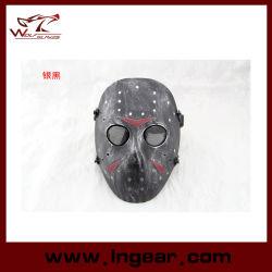 Maschera di protezione piena militare della mascherina tattica di Airsoft della mascherina del hokey del Jason per il commercio all'ingrosso