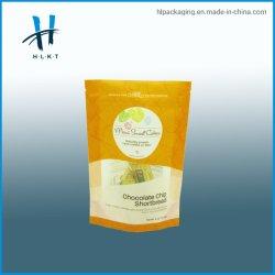 sacchetti di plastica di imballaggio per alimenti di 80g 100g 250g 500g 1kg per i sacchetti del documento del mestiere della chiusura lampo degli anacardi