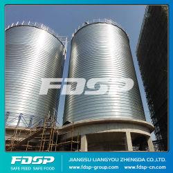 La capacidad del depósito de silo de almacenamiento de arroz cáscara Precio