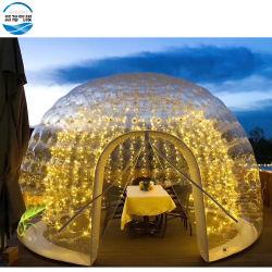 Merveilleux bulle gonflables géants tente, de lumière LED tente dôme étanche pour l'événement