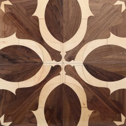 Parquet de madera de alta calidad de ingeniería de suelos de mosaico