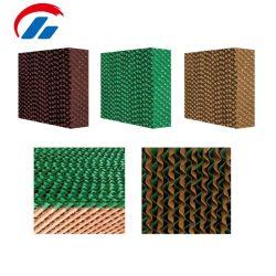 Almohadilla de refrigeración de buena calidad/wet de cortina