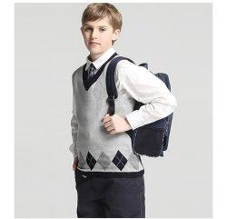 L'école les enfants chandail sans manches enfant Gilet en tricot uniforme