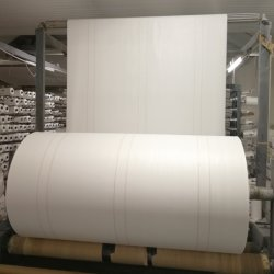 طبع صاحب مصنع بيضاء يحاك [بّ] بوليبروبيلين طلية يحاك أبنية صراحة دائريّ يوسع مستديرة يحاك بناء لأنّ حقائب كبيرة