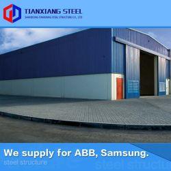 Una instalación rápida nos modular de construcción metálica de acero