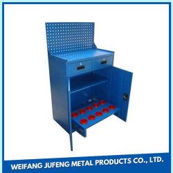 Herramienta de lámina metálica de alta calidad stocker/Garaje Workbench de laminación de metal armario/Caja de herramientas con las ruedas