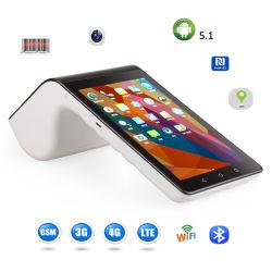 7 polegadas Android Tablet POS Device NFC Leitor de cartão de crédito com 4G Wi-Fi Bluetooth