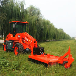 Kompakte landwirtschaftliche Maschinerie der Bauernhof-Traktor-vordere Rad-Ladevorrichtungs-Tl2500