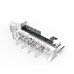 Fibra láser CNC del tubo de metal / máquina de cortar el tubo para la industria de control de incendios