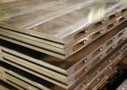 Kohlenstoff-Edelstahl-heißes Presse-Platten-erhitztes Vorlagenglas für zusammengesetzte Material-Herstellungen