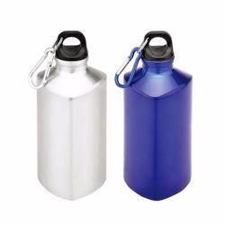 Coloridas promocional metal reutilizables Botella de agua de los deportes de aluminio