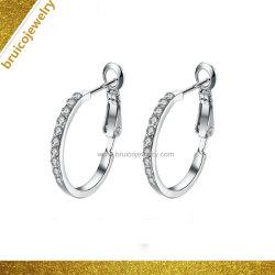 Nouveaux design Fashion Silver Hoop Earrings pour les filles