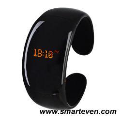 La moda Brazalete Bluetooth con identificador de llamadas y contestador automático (WP10A)
