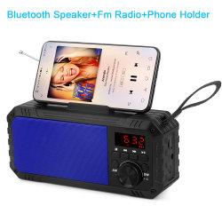 Nouveau téléphone mobile Portable Stand haut-parleurs de l'alimentation des accessoires informatiques de radio FM de l'eau potable haut-parleur Bluetooth