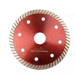 4 polegada, pressione Turbo fina lâmina de serra para corte de cerâmica e telhas