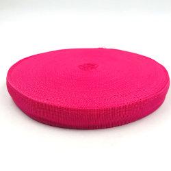 Textil hogar bolsas ecológicas de Prendas de Vestir Zapatos de Cinta de tejido de poliéster 100% polipropileno tejido Jacquard correa correa