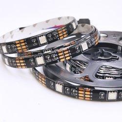 Tira LED USB RGB 5V 5050 Cambio de color de las luces de fondo equipo impermeable TV LED tiras 2m Mando a distancia