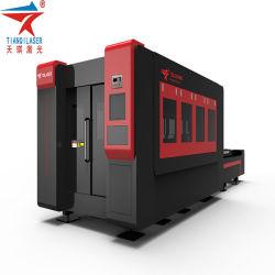 Fibre 3015 CNC machines de découpe laser avec métal Laser IPG