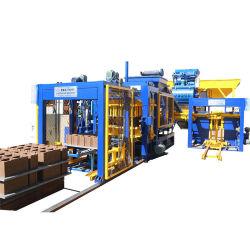 Qt6-15 blocco a forma di puleggia cava idraulico automatico mattone standard colorato in mattoni Macchina per la produzione di blocchi