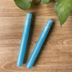 Schneller Versand Großhandel 5ml 10ml 15ml Reise Container Kunststoff Mini Parfüm Wasser Spray Flasche Zerstäuber Stift mit Clip Cap