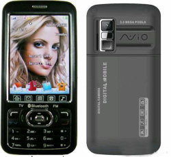 TVの携帯電話(A968)