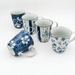 Taza de cerámica Hand-Painted/taza de café/Set de regalo/cena