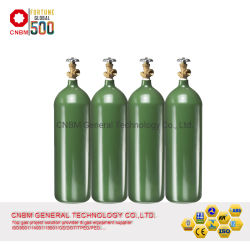 DOT-3AA anerkannter Stickstoff-Argon CO2 Sauerstoff-Gas-Zylinder des nahtlosen Stahl-58L/medizinischer Sauerstoffbehälter/Bor Trifluoromethyl Zylinder/Tetrafluoromethane Becken