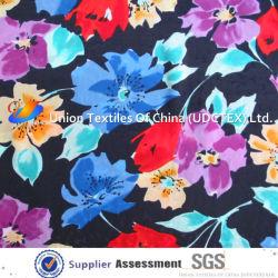 100% Polyester Koshibo tissu imprimé pour la mode robe
