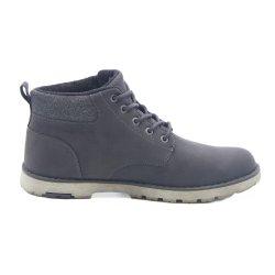 靴の方法をハイキングすることは人のための偶然のブートの屋外の靴を起動する