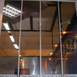 Placa de alumínio do espelho processados pelo material