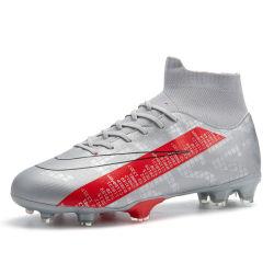 Usine de chaussures de football, Personnaliser mode décontracté chaussures de football confortable, coupe haute chaussures de football de gazon