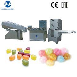 Linha dada forma produção da planta dos doces duros que faz a máquina para doces enchidos