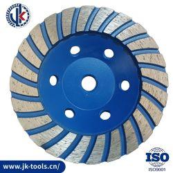 115 mm ターボダイヤモンド研磨ホイール / カップホイール / 研磨剤 御影石の大理石ストーン用研磨ツール