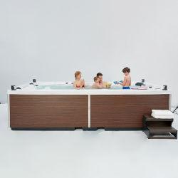 Grand 9 personne un bain à remous Jacuzzi en plein air et un bain à remous spa