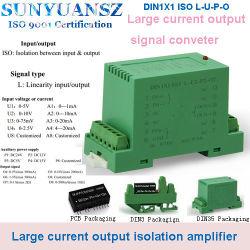 EM 드라이브 또는 대형 전력 부하를 위한 3000V 절연 증폭기 선형 컨트롤 DIN1 * 1 ISO L-A3-P1-O4